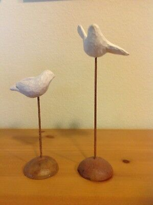 Demdaco willow tree retired nativity birds set of 2 #26006