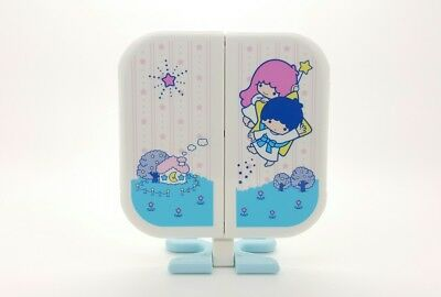 Vintage Sanrio Little Twin Stars Foldable Mirror With Star Stand Beautiful New