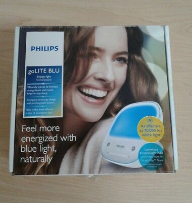 Philips goLITE BLU Energy Light Therapy Lamp,