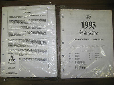 1962 cadillac shop service repair manual factory brand new reprint rh picclick com 1990 Cadillac 1996 Cadillac
