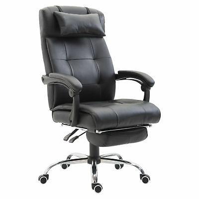 Ergonomic Office Chair Computer Gaming Racing Swivel Chair PU Leather High Back