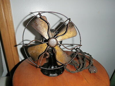 Antique Polar Cub fan Type H 6 inch does work  MUST SEE!!