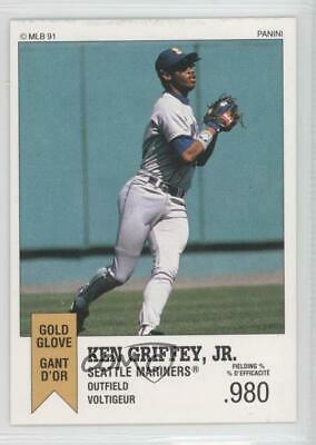 2ab20e41fa 1991 Panini Top 15 Album Stickers #116 Ken Griffey Jr Seattle Mariners Jr.  Card