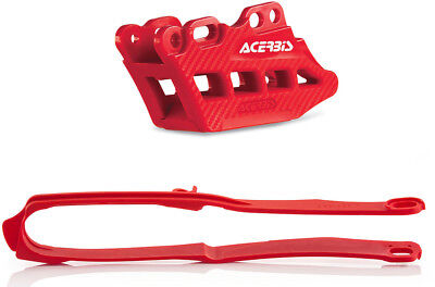 Acerbis 2.0 Red Chain Guide & Slider Set for Honda 2666240004