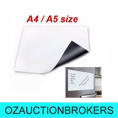 A5/A4 Fridge Magnetic Whiteboard Memo Reminder Board