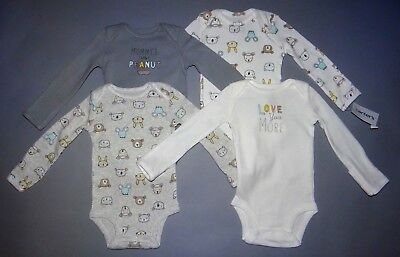 Baby girl clothes, 9 months, Carter's Little Baby Basics 4 bodysuits/New Arrival