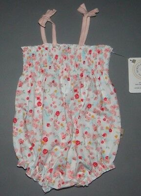Baby girl clothes, 3-6 months, Burt's Bees Organic Floral Cotton Bubble
