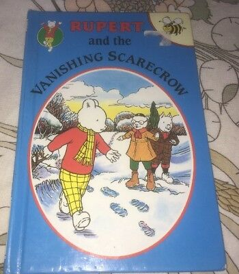 Collectable Copy Of 'Rupert And The Vanishing Scarecrow'. Buzzbooks 1993