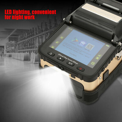Fiber Optic Welding Splicing Machine Optical Fiber Fusion Splicer US Plug