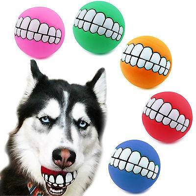 Pet Dog Ball Teeth Silicon Toy Chew Sound Dogs Supplier Play Toys