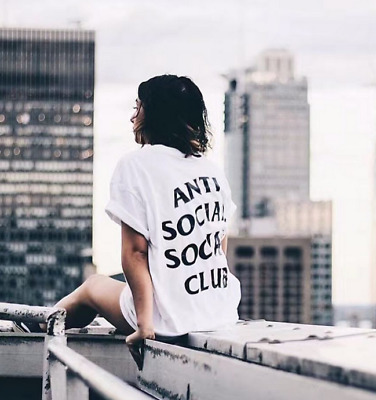 NEW AntiSocial tee Anti social social club Mens Women Unisex T-shirts Top