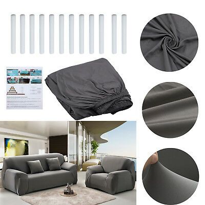 EASY Stretch Couch Sofa Lounge Cover Recliner 3 Seater Dining Chair Slipcover AU