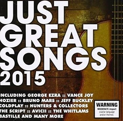 Just Great Songs 2015 CD NEW & SEALED (38 Hits!)