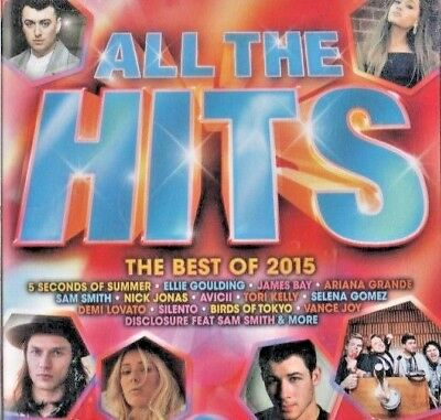 All the Hits - the Best of 2015 CD NEW & SEALED (17 HITS!!)