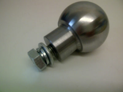 "50mm (2"") Towball for Westwood, Countax, Ride On Lawn Mower Tractor"