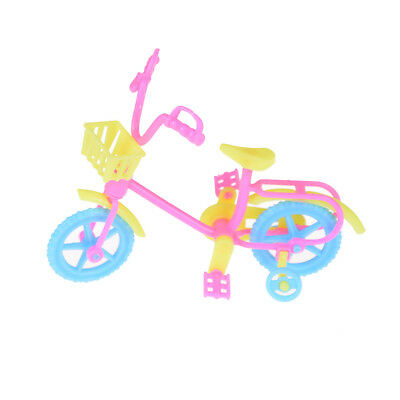Cute Bicycles Bikes Mini Toy for Barbie Accessories Girls Birthday Gifts CA.