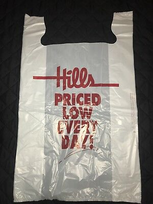 5 Large Hills Department Store Bags