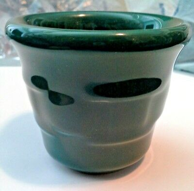 Longaberger Pottery Ivy Green Votive Candle or Toothpick - Excellent!