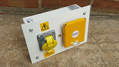 Blakeley Electrics Hypra Control Box Inc Schneider Breakers 100/130V Legrand 519