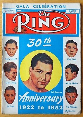 The Ring Magazine March 1952
