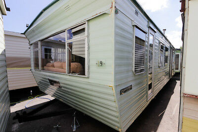 Atlas Super Solitaire Static Caravan / Storage Unit / Shed 35 x 12
