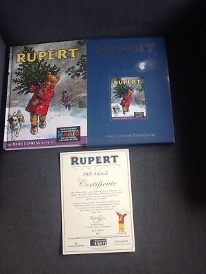 Rupert Bear 1965 annual limited reproduction