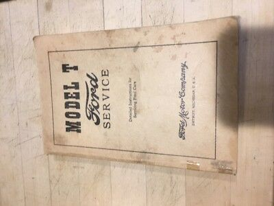 1925 Ford Model T  odel T owners manual