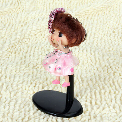"""2X Adjustable 4-5"""" Display Holder Support Stand for Hot Toys Barbie Bear Toy"""
