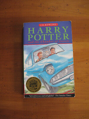 Harry Potter And The Chamber Of Secrets - First Edition Paperback 1998 1St Imp.