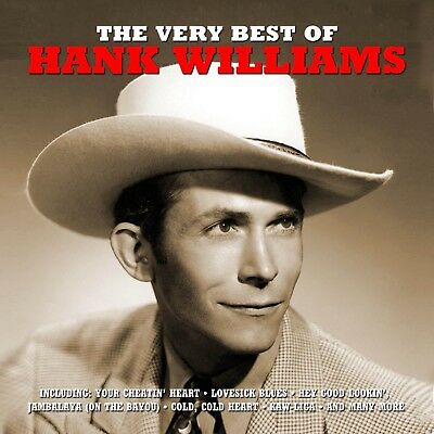 Hank Williams - Very Best Of 2 Cd New+