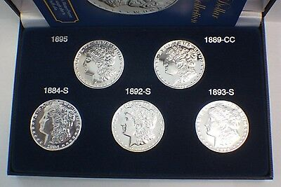 Million Dollar Morgan Collection Tribute Proof Set of Five