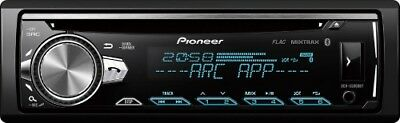 Pioneer DEH-S5000BT 1-Din Autoradio mit Bluetooth CD USB AUX Flac Mixtrax
