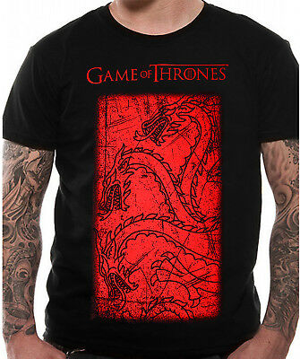 Official Game Of Thrones Targaryen T Shirt OFFICIAL NEW Distressed Print
