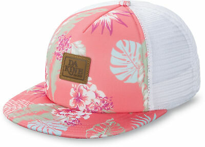 Dakine Womens Caps - Hula Trucker Waikiki - Hat, Mesh, Snap Back Adjuster