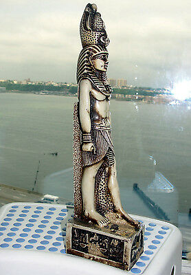 Fine Egypt Egyptian Kingdom Statue King Tut Tutankhamen Figure Sculpture African