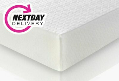 "Memory Foam Mattress With No Springs - 6"" Mem Foam/Reflex Mattress -Free Pillows"