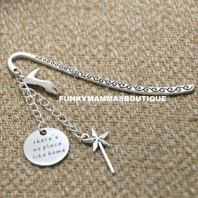 There's No Place Like Home Charms Bookmark Silver Wizard Of Oz  In Gift Bag
