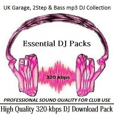 UK Garage 2Step & Bass mp3 DJ Collection Part 1 Professional 320 Kbps (DOWNLOAD)