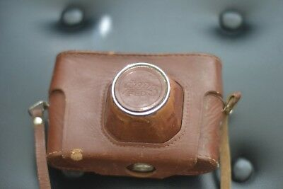 Vintage Fed 3 ФЭД-3 Soviet Camera Carry Case with Strap