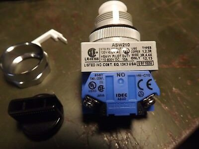 IDEC ASW210 Selector Switch, New in Box