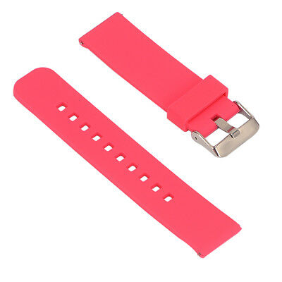 Replacement Silicone Strap bracelet WatchBand for Garmin Fenix Chronos Red