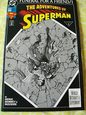 Adventures of Superman 498 DC 1993 Jerry Ordway Tom Grummett