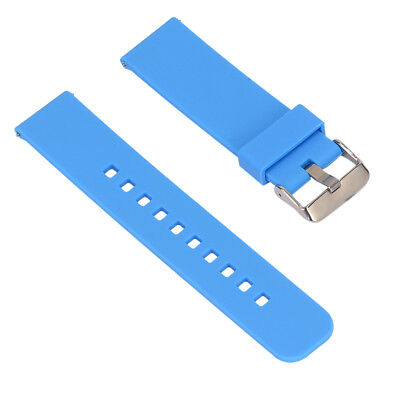 Adjustable Replacement Wrist Watch Band Strap for Garmin Fenix Chronos Blue