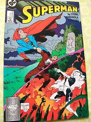Superman 23 DC 1988 Stern Mignola Russell