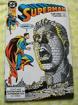 Superman 39 DC 1990 Ordway Gammill McLeod