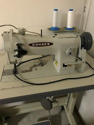 New/otherConsew 206RB-5 Upholstery Sewing Machine with KD stand and 3/4hp servo