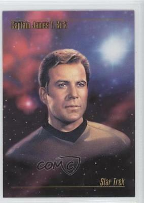1993 SkyBox Master Series Star Trek #01 Captain James T Kirk Non-Sports Card 0n7