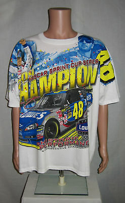 2479b9361acd 2009 Sprint Cup Series Champion Jimmie Johnson T-Shirt 2XL NASCAR Chase  Unworn