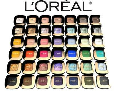 L'oreal Color Riche Eye Shadow Singles - Choose Type Nude, Smoky, Pop, Lumiere