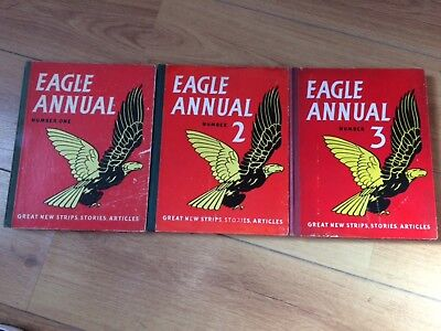 Eagle Annuals Number One, 2 & 3